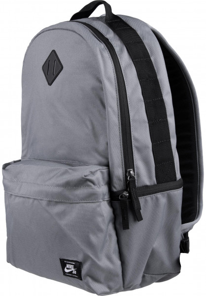 size 40 b23df bba6e Nike SB Rucksäcke Icon Backpack coolgrey-black Vorderansicht