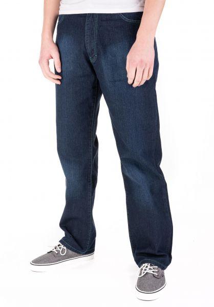 Fourasses Jeans TheFours darkblue-green vorderansicht 0227158