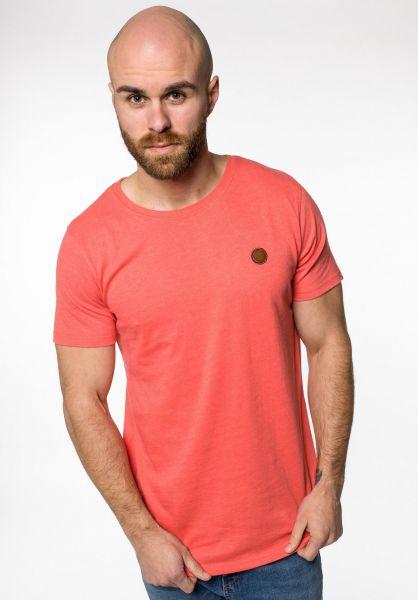 alife and kickin T-Shirts Maddox coral vorderansicht 0320764