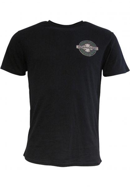 Independent T-Shirts C. Haslam Medals black vorderansicht 0391826