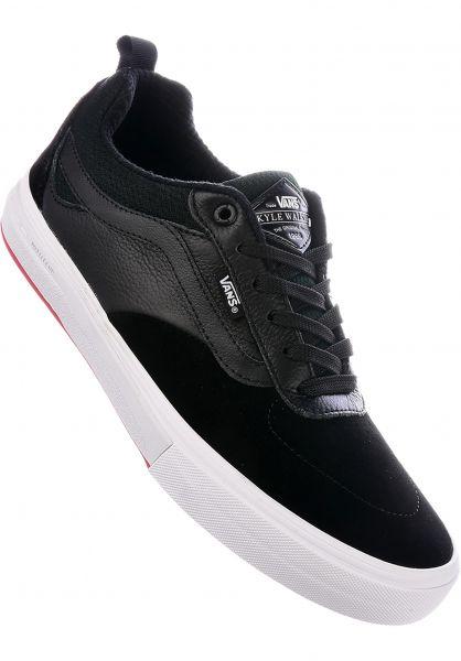 490ea1647e5636 Vans Alle Schuhe Kyle Walker Pro black-red Vorderansicht