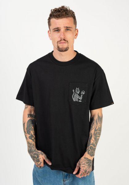 Emerica T-Shirts Servold black vorderansicht 0322844