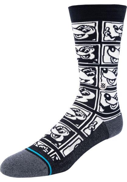 Stance Socken 1985 Haring black vorderansicht 0632217