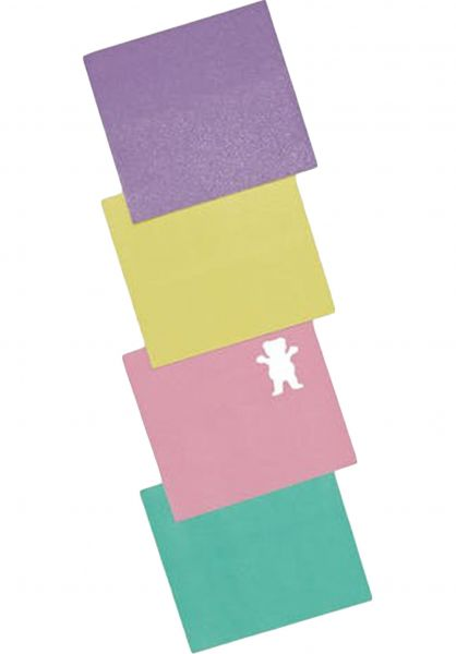 Grizzly Griptape Pastel Mini Sheets multicolored vorderansicht 0142251