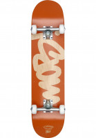 MOB-Skateboards Skateboard komplett Mob Tag orange Vorderansicht
