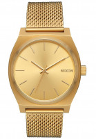 Nixon Uhren Time Teller Milanese all-gold Vorderansicht