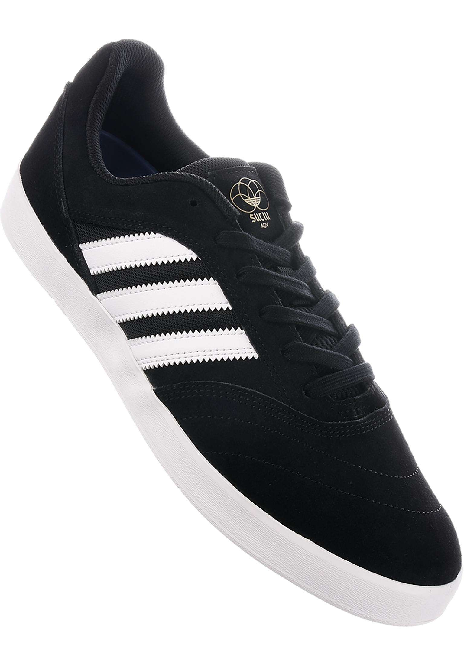 4ef5328566 Suciu ADV adidas-skateboarding All Shoes in coreblack-white-gold for Men