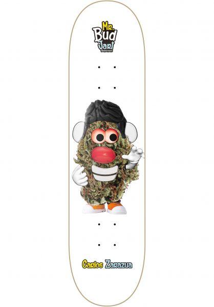 JART Skateboard Decks Mr Bud III white Vorderansicht