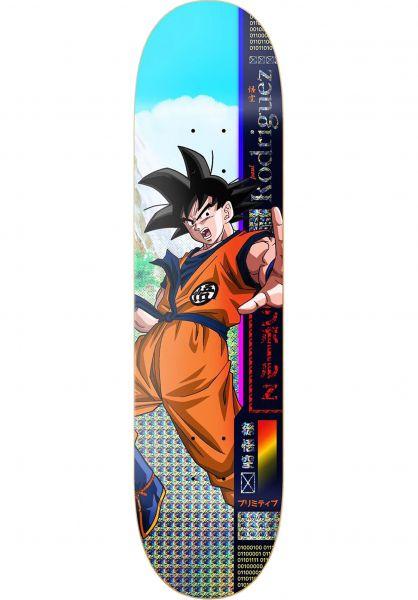 Primitive Skateboards Skateboard Decks Rodrigues Goku Multicolor Vorderansicht 0261456