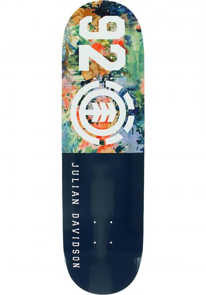 Element Skateboard Decks Julian Floral 92 multicolored vorderansicht 0260656