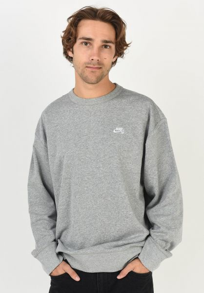 radio tornado Aventurero  SB Crew Nike SB Sweaters and Sweatshirts in darkgreyheather-white for Men |  Titus