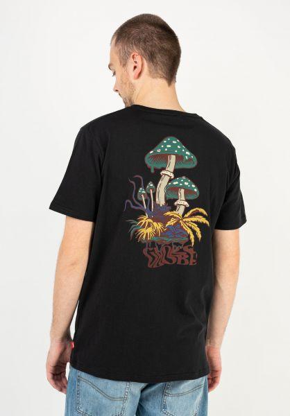 Globe T-Shirts Nature Walk washedblack vorderansicht 0323385