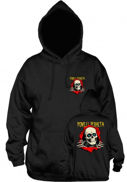 Powell-Peralta Hoodies Ripper Medium Weight black Vorderansicht