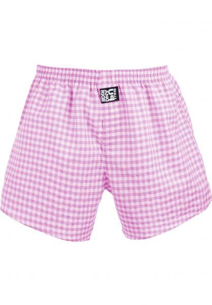 Fourasses Unterwäsche Plaid pink vorderansicht 0213308