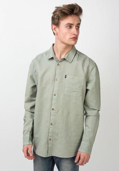 Rip Curl Hemden langarm Eco Craft seagrass vorderansicht 0411998
