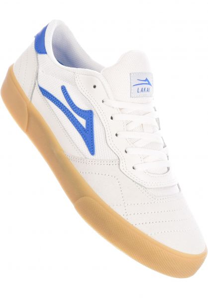 Lakai Alle Schuhe Cambridge white-blue vorderansicht 0604604
