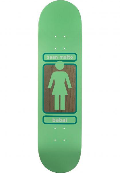 Girl Skateboard Decks Malto 93 Til Babai mint-darkgreen vorderansicht 0262422