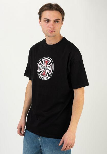 Independent T-Shirts Truck Co. black vorderansicht 0321513