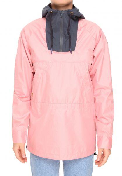 Plenty Humanwear Übergangsjacken Abby pink-navy Vorderansicht