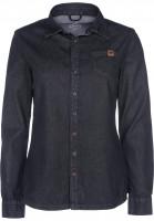 TITUS Hemden langarm Dini blackdenim-vintage Vorderansicht