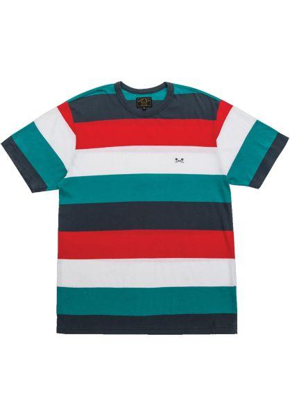 Dark Seas T-Shirts Yuma red-teal vorderansicht 0399558