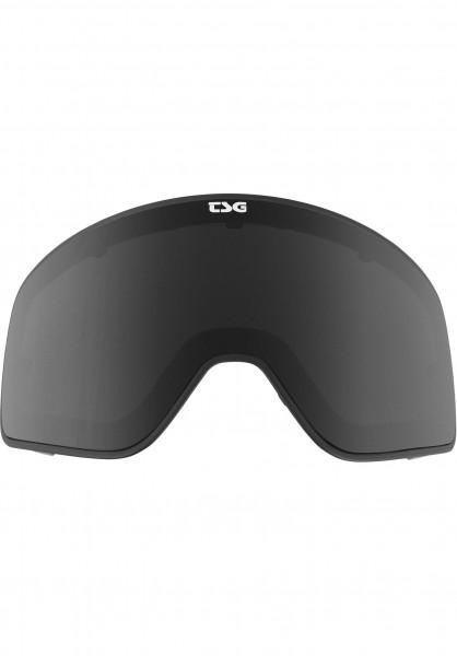 TSG Snowboard-Brille Replacement Lens Goggle Amp black Vorderansicht