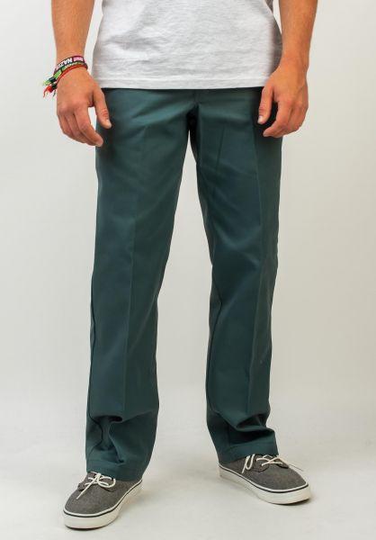 Dickies Chinos und Stoffhosen Original 874 Work Pant lincolngreen vorderansicht 0054860