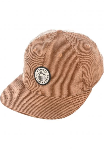 Wemoto Caps Life brown vorderansicht 0566547