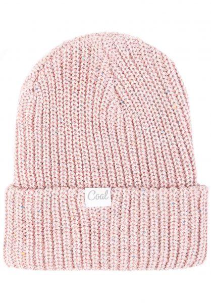 coal Mützen The Edith pink vorderansicht 0572538