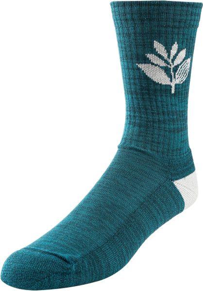 Magenta Socken Plant teal vorderansicht 0631792
