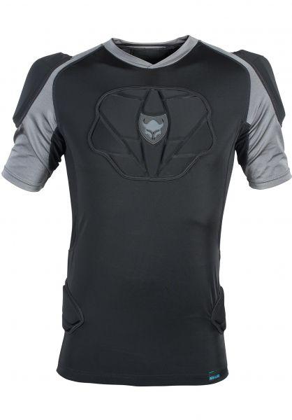 TSG Protective Shirt S/STahoe A black Vorderansicht