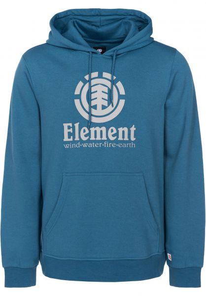 Element Hoodies Vertical bluesteel Vorderansicht