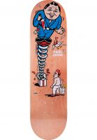 Polar Skate Co Skateboard Decks Paul Grund Present orange Vorderansicht