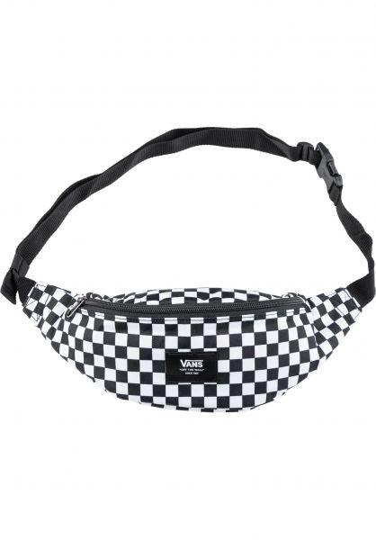 Vans Hip-Bags Mini Ward Cross Body black-white-checkerboard vorderansicht 0881080