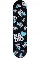 Radio Skateboard Decks Radio Love black Vorderansicht