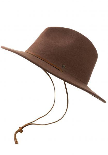 Brixton Hüte Field Hat bison vorderansicht 0566557