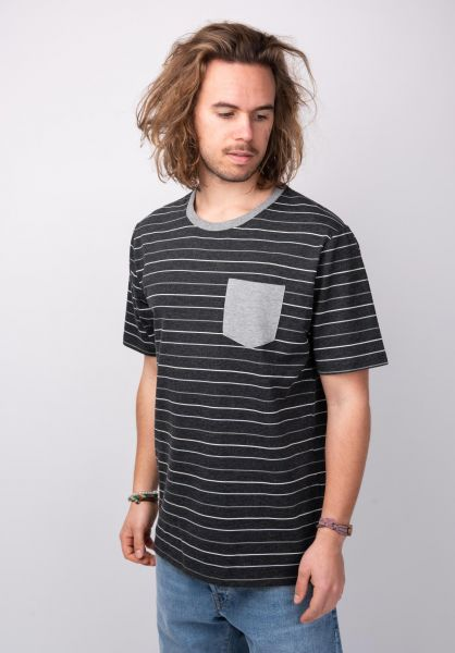 Rules T-Shirts Jöran darkgreymottled vorderansicht 0398508