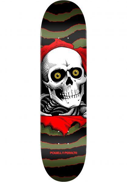 Powell-Peralta Skateboard Decks Ripper Birch Mini one off-olive vorderansicht 0117161