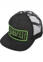 Creature Caps Patch Trucker black-denim Vorderansicht
