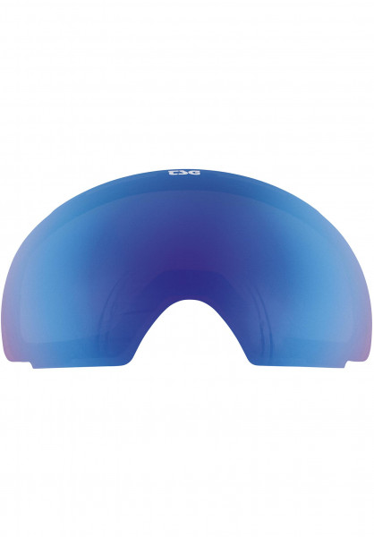 TSG Snowboard-Brille Replacement Lens Goggle Two blue-chrome Vorderansicht