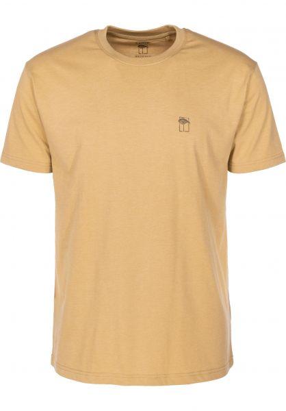 Mahagony T-Shirts Small T.O.L yellow vorderansicht 0399468