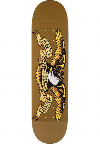 Anti-Hero Skateboard Decks Classic Eagle brown Vorderansicht