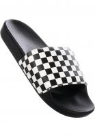 Vans Sandalen Slide On checkerboard-white Vorderansicht