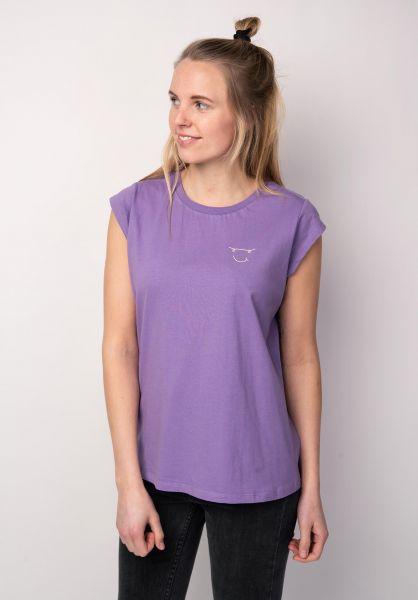 TITUS T-Shirts Helena violet vorderansicht 0398491