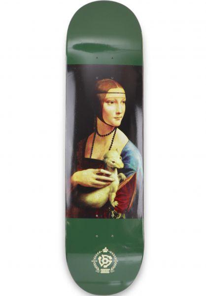 Stereo Skateboard Decks Paulo Diaz Ferret green vorderansicht 0262130