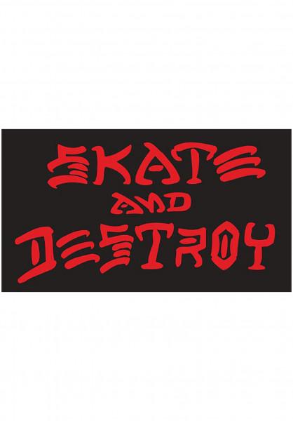 Thrasher Verschiedenes Skate and Destroy Small Sticker black Vorderansicht
