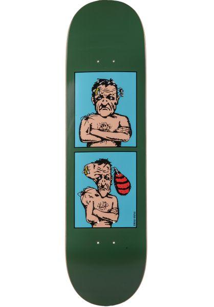 Passport Skateboards Skateboard Decks Next Day Series Sting green vorderansicht 0261449
