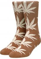 huf-socken-plantlife-crew-sock-brown-vorderansicht-0630394