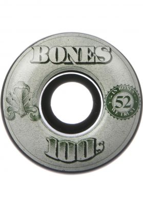 Bones Wheels Wheels 100's OG #16 100A black