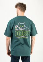 obey-t-shirts-up-all-night-mallardgreen-vorderansicht-0322544